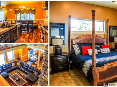 Photo for Large, Modern, Luxurious Cabin- Reunions, Snowmobile, Relax!