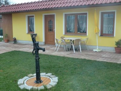 Photo for Bungalow with terrace (50m², max 4 people) - Bungalow on Baltic Route Rerik
