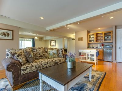 Photo for Private lakefront shared home with dock access - close to golfing + theme parks