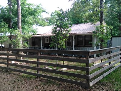 Photo for Pa Pa's Cabin at Monterrey Park and Boat Launch area, Lake Sam rayburn
