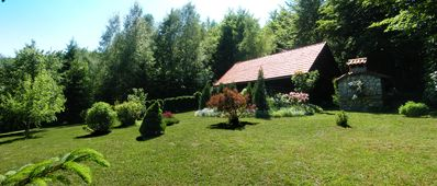 Photo for Charming Country Cottage very near Lake Lokve. Fuzine and Crikvenica also nearby