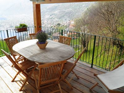 Photo for Apartment Dominga (2nd floor) has a large terrace with panoramic views