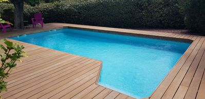 Photo for terraced house with the owners. pool is private attractive price