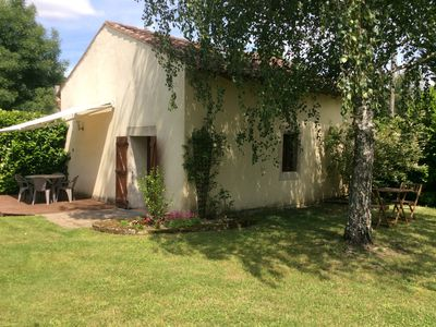 Photo for Le Puits, Beautiful Stone Cottage with Private Swimming Pool for sole use.