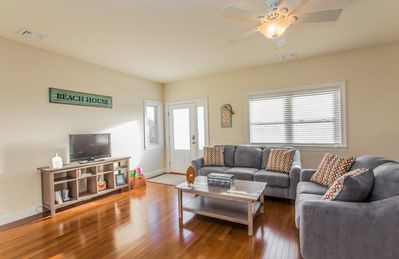 Relax in this family room made for spending time together!
