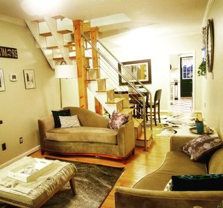 Photo for Bmore@Home in 2 BR Canton Rowhome W/ Roofdeck near Harbor, Hopkins & Downtown