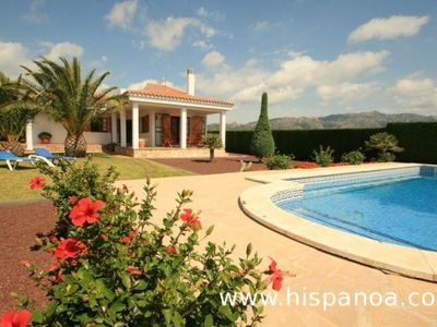 Photo for Renting this holiday villa with a beautiful garden