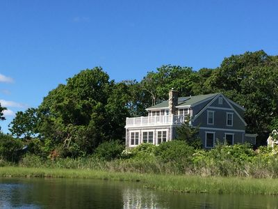 Photo for Waterfront Home in Oak Bluffs - Walk to Town and Beach