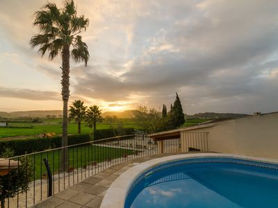 Photo for Holiday house with pool in the heart of Mallorca