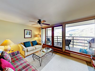 Photo for 2BR w/ Vail Views, Balcony, BBQ, Large Indoor Pool & Hot Tub - Near Skiing