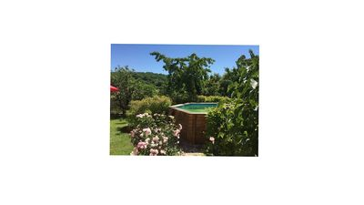 Photo for Charming rustic gîte nestling in a pretty, medieval bastide village.