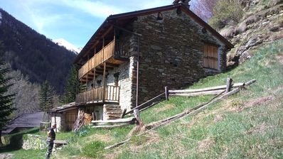 Photo for Room in Chalet in wild italian alps, val Germanasca.