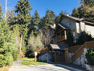 Photo for Ski in/ Ski out Minutes from Village, Private Hot Tub Sleeps 6 Free Shuttle