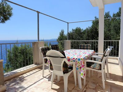 Photo for Three bedroom apartment near beach Dingač - Potočine (Pelješac)