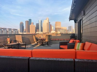 Photo for 7 BED Mid Town Home W/Rooftop Deck. City Views, Minutes To DT, Montrose And More