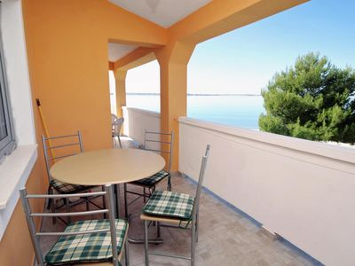 Photo for One bedroom apartment near beach Vrsi - Mulo (Zadar)