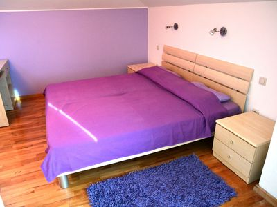 Photo for Double Bedroom with King Size Bed and Daily Breakfast