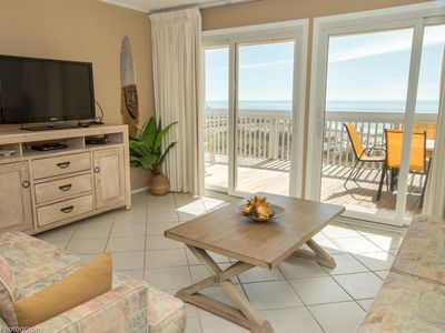 Photo for SPC 2133 - Upstairs Gulf front 1 BR - sleeps 4