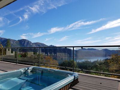 Photo for Aug Dates Available! Amazing Home with beautiful panoramic views - Hot tub!