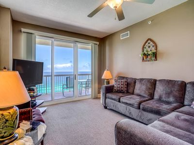 Photo for Sunrise Beach 1508: 2 BR / 2 BA condominium in Panama City Beach, Sleeps 6