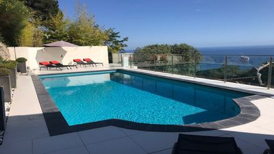 Photo for LUXURY VILLA SLEEPS 8 WITH INCREDIBLE VIEWS & LARGE NEWLY RENOVATED HEATED POOL