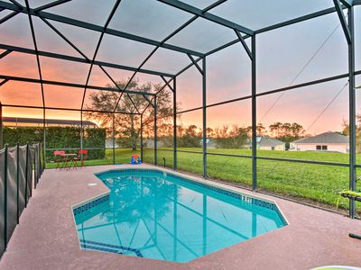 Photo for Kissimmee Resort Home Under 5 Miles from Disney!