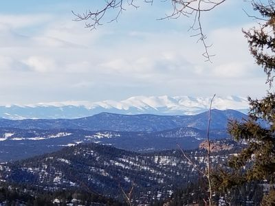 Photo for Great views from the Jacuzzi!! Experience  mountain living!