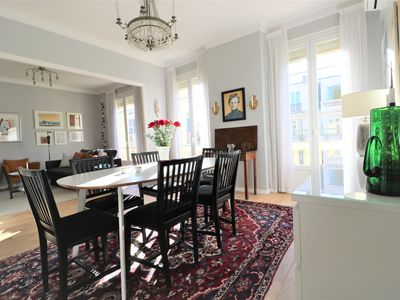 Photo for Lovely apartment in vibrant and genuine Liberation in central Nice.
