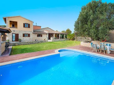 Photo for Beautiful Villa with private pool and lovely barbecue only 3 km to sandy beaches