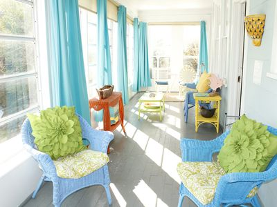 Photo for Incredible Location! Charming Beach House, Just Steps to the Beach! 2BR/2BA