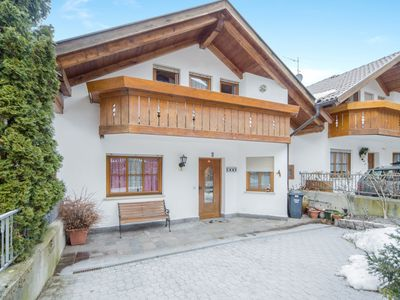 """Photo for Charming Holiday Apartment """"Ferienwohnung Wia Dorhuam"""" with Mountain View, Wi-Fi, Garden, Balcony & Terrace; Parking Available, Pets Allowed upon Request"""