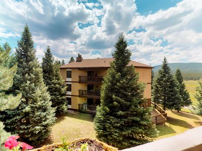 Photo for NEW LISTING! Luxury condo with mtn views near skiing, hiking, biking, and resort