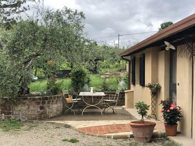 Photo for Cottage in the Heart of Tuscany among Vineyards and Olive Groves !