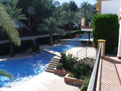 Photo for Charming 2 bed town house, set in the beautiful La sella Golf resort