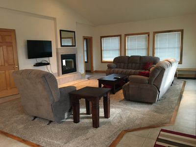 Photo for Spacious Mountain  House, with 2 Car Heated Garage