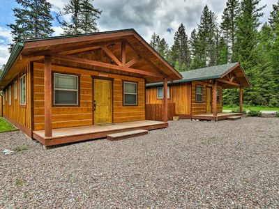 Photo for Hungry Horse Cabin w/Patio & Fire Pit-Near Glacier