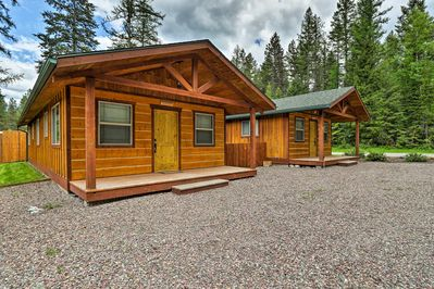 Surprising Hungry Horse Cabin W Patio Fire Pit Near Glacier Hungry Horse Best Image Libraries Barepthycampuscom
