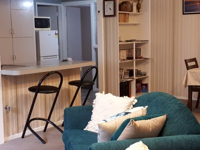 40sqmt lounge/living area. Kitchen & cooking facilities. Fully stocked cupboards