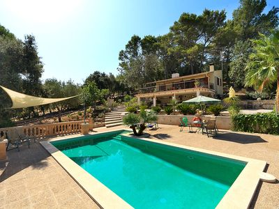 Photo for One bedroom Villa, sleeps 2 in Ullaró with Pool, Air Con and WiFi
