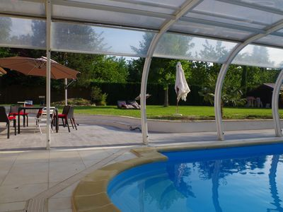 Photo for VALLEY OF CHEVREUSE RENTAL VILLA WITH SWIMMING POOL 35 KMS OF PARIS