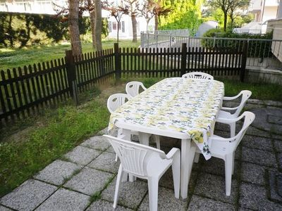 Photo for Residence with garden, 150 meters from the sea