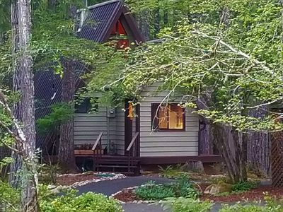 Life in the Slow Lane-The Forest Cottage at Lake Cushman