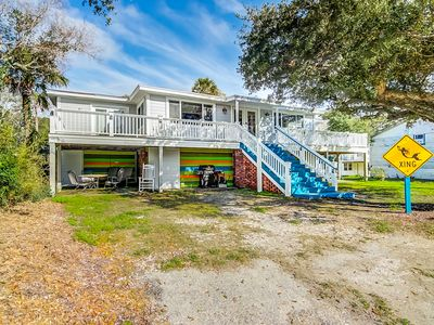 Photo for Dog-friendly home w/ beach access, parking passes, and free WiFi!