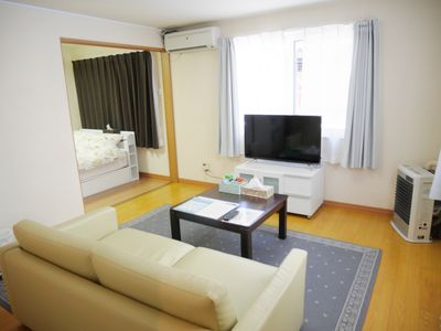 Photo for C101 A quiet place 10-15 minutes on foot from Sapporo Station.Parking, freewifi, air conditioner, maximum 4 people