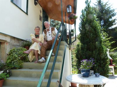 Photo for Holiday cottage - at the Malerweg