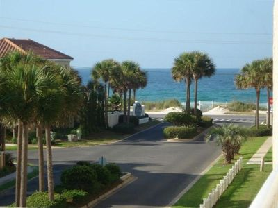 Photo for Beautiful Gulf View, Short Walk to Beach, Heated Pool, 2 Beach Chairs/Umbrella