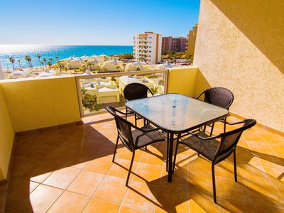 Photo for Beautiful 1½ Bedroom Condo on the Sea of Cortez at Las Palmas Resort D-504