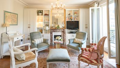The beautiful Clairette Paris apartment is modern and luxurious