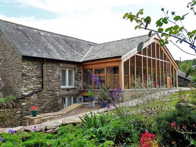 Photo for THE CIDER BARN AT HOME FARM, pet friendly in Down Thomas, Ref 976244
