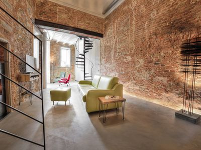 Photo for Stone Walls, Luxury, Modern, High End , Perfectly Silent Condo. 1 min from Duomo